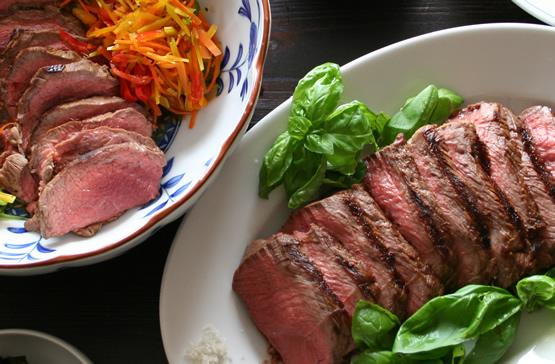 イタリアのタッリアータ風の神戸牛たたきのレシピ